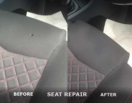 Velor Seat Repair